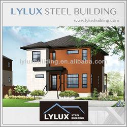Light gauge steel structure prefabricated smart house