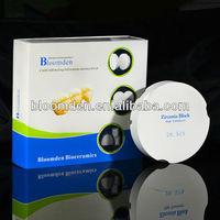 Zirkonzahn M5 prettau zirconia block OD95x22/dentals