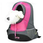 Designer Small Dog Backpack Carrier Tote Travel Bag Portable Canvas Purse Pocket