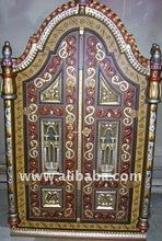small door decorative with mirror