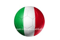 High Quality White,Green and Red PVC Inflatable Football