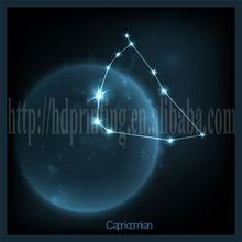 constellation series canvas abstract picture made in china led canvas