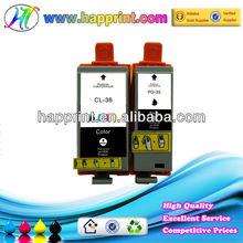 compatible ink cartridge for Canon PGI 35BK CLI 36C for Canon compatible ink cartridge