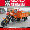 Air cooling dinghao cheap motorcycle three wheels/gas scooter trike