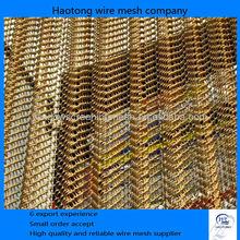 Manufacture Decorative Wire Mesh Panels Price/Rusted Steel Decorative Wire Mesh/Brass Decorative Wire Mesh