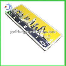2013 High Quality Custom Tourist 3D Souvenir Fridge Magnet (LF-XL035)