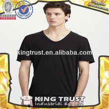 America black summer popular silk short sleeve wholesale t shirts