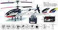 2.4g 3ch rc hélicoptère avec gyro hélicoptère jouets 3ch mjx