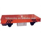 Heavy Duty Mining Electric Flat Car 50T Running On Rail