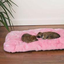 Pet Dog Pillow Bed Mat, 24 By 18 Inch, Human Grade Fabric