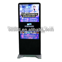 65 inch lcd interactive digital signage screen stand