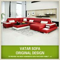 Exotic furniture U shaped sectional sofa