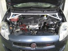 ULTRA RACING 4 POINTS FRONT STRUT BAR TOWER BAR for FIAT BRAVO 2007 1.4L TURBO