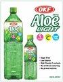 okf azúcar libre de bebidas de aloe vera