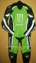 kawasaki leather race suit