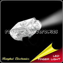 Holiday Flashing LED Finger Ring