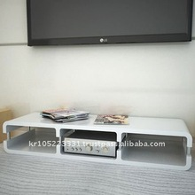 Movable TV stand, modern AV stand