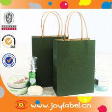 Paper Handle Personalized Kraft Paper Bag White Kraft Gift Bags