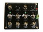NBC camera CCTV Video Distributor Patch Board 2 Input 8 Output video signal distributor