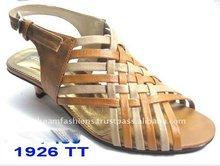 Beautiful Handwork Low Heel Ladies Evening Shoes