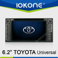 "6.2"" in dash car multimedia gps navigation system for TOYOTA RAV4(2001-2008)"