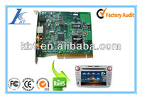 PCB assembly for car dvd,Car audio amplifier pcb board,PCBA manufacturer