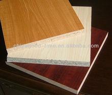 Pre laminated particle board in sale,particle board home furniture design