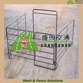Tubo de acero galvanizado puertas( sgs fábrica)