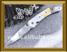 Wholesale 6 pcs./12 pcs. New Custom Handmade, Damascus, Pocket, Folding Knife & Free Shipping