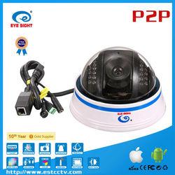 Cheap UPNP P2P connection IOS pan and tilt ip robot ip video surveillance security system camera