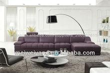 2012 European style sectional sleeper sofa corner sofa furniture, quality home furniture recliner sofa modern WQ6881