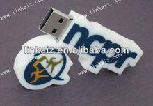 cute Rubber/PVC 4gb usb stick , usb flash drive PVC cover