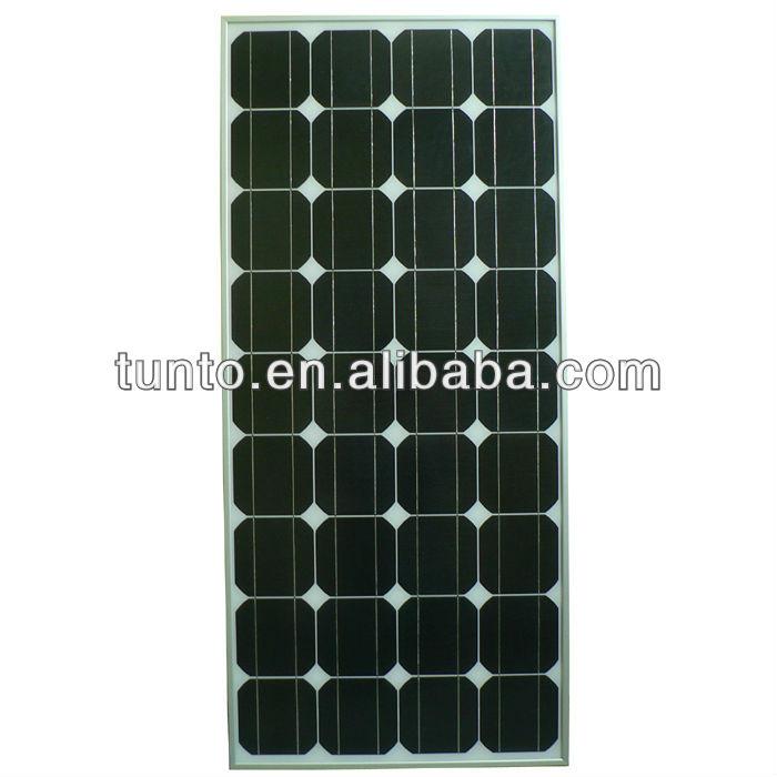 100 Watt mono crystalline solar module panel with high efficiency