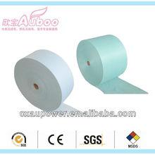 PP spunbond woodpulp spunlace polyester nonwoven