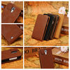 vintage style leather mobile phone bag for s4 i9500
