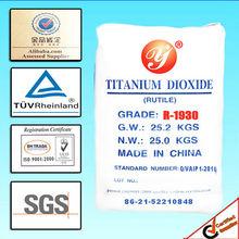 rutile titanium dioxide R1930(chloride process)|titanium dioxide rutile price