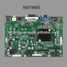 VGA+DVI+ HDMI +AV LCD controller board