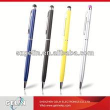 slim cross metal pen 2 in 1 touch pen