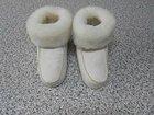 Cozy sheepskin slippers