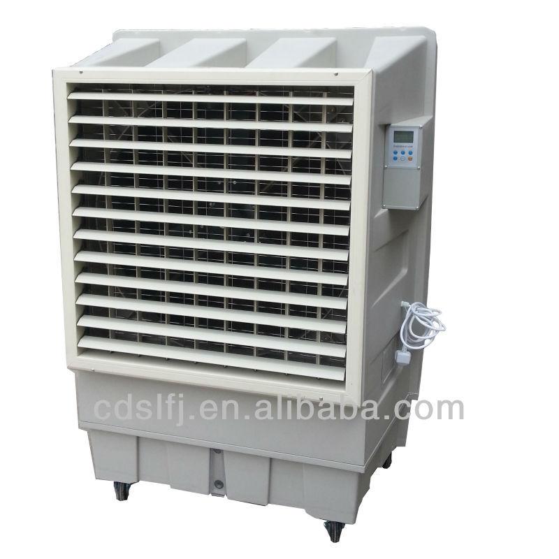 Industrial Swamp Cooler : Large airflow industrial portable evaporative air cooler