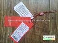 personalizado de ropa reciclada de etiquetas de papel