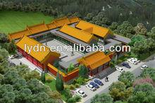Yellow roof tiles for Forbidden City's Shu Fang Zhai