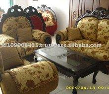 Arabian Modern Teak Sofa Set