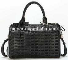 2013 New product black little cross body tote bag women/genuine leather handbag ladies/girl handbag wholesale Guangzhou SKW13629