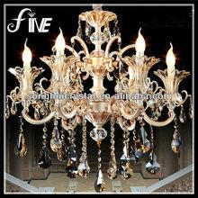 Sand Sliver Luxury Retro Chandelier Crystal Lamp