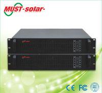 <MUST Solar>smart RS232 communication sine wave ups rack 2kva
