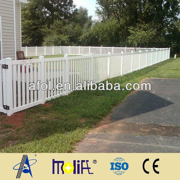different types picket vinyl fences