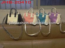 Hot sale popular split leather handbag for girls