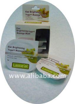 Korea made Kiwi Brightening yogurt massage mask
