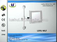 modern design cosmetic telescopic shaving mirror